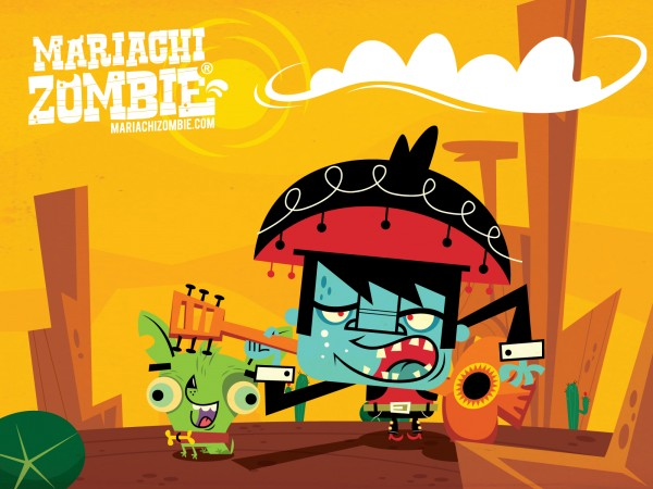 Mariachi Zombie atomic cartoons animation blog animation site