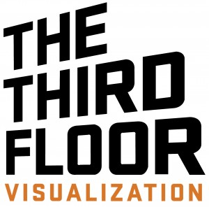 third floor, animation jobs, logo