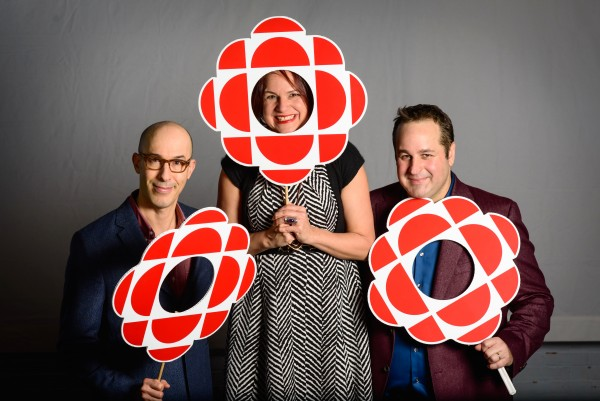 Martin, Marie, Drew with CBC gems